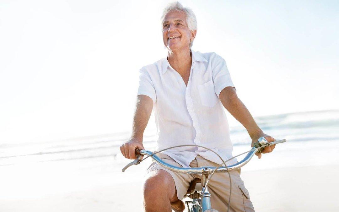 Bild_magazin alter mann fahrrad